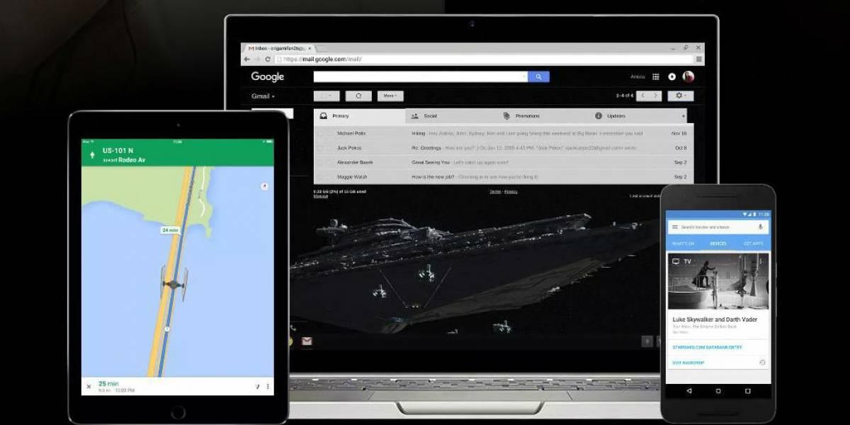 Google agrega nuevos temas de Star Wars para sus aplicaciones