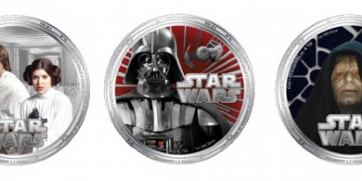 WTF? Monedas de curso legal de Star Wars