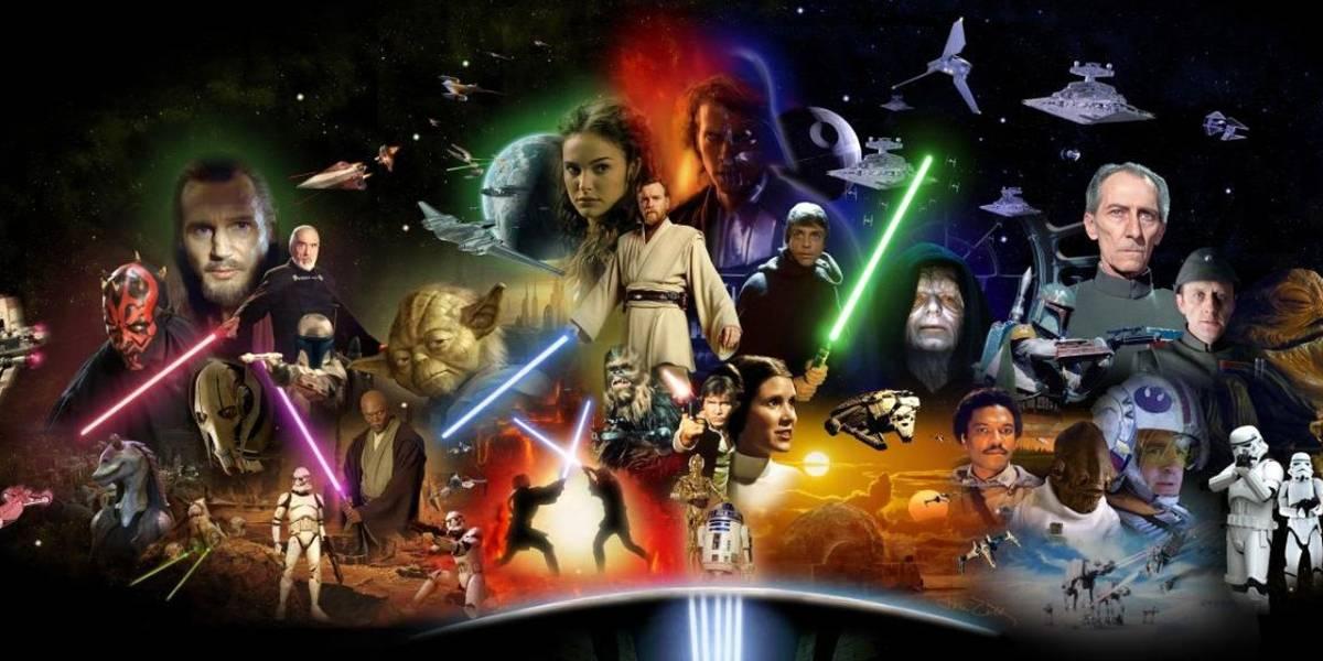 Todos los personajes de Star Wars reunidos en un solo video