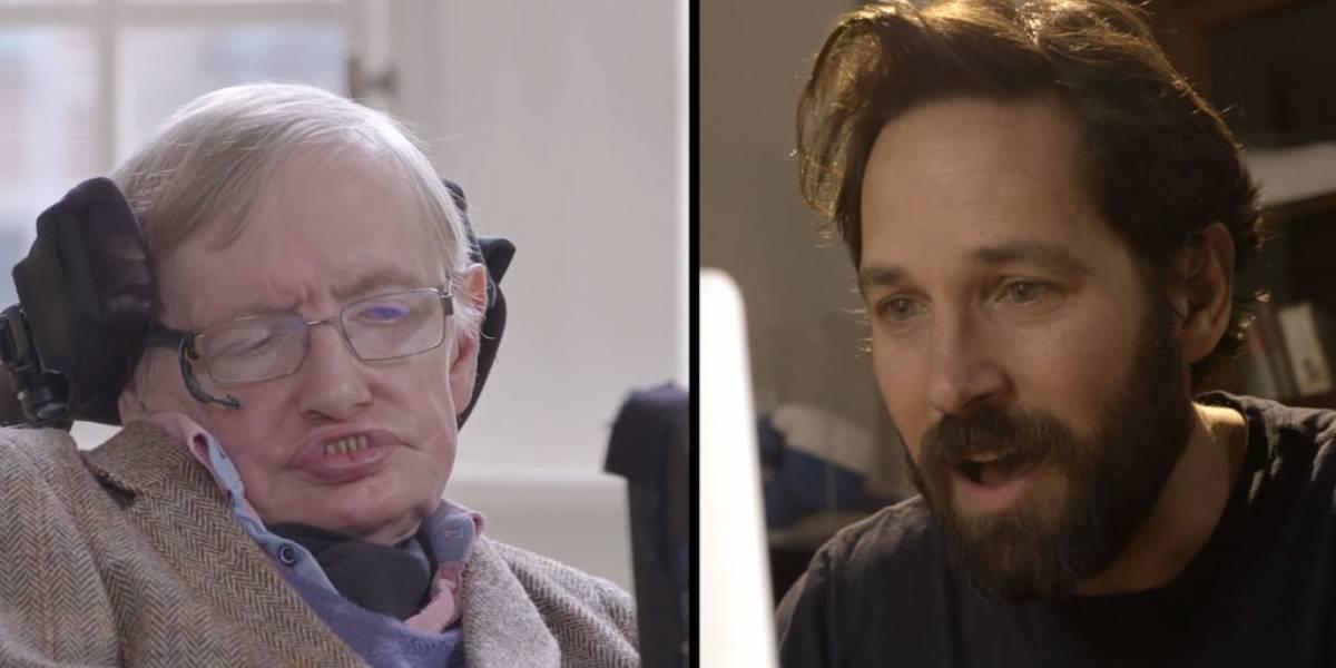 Mira a Stephen Hawking jugar ajedrez cuántico contra Ant-Man