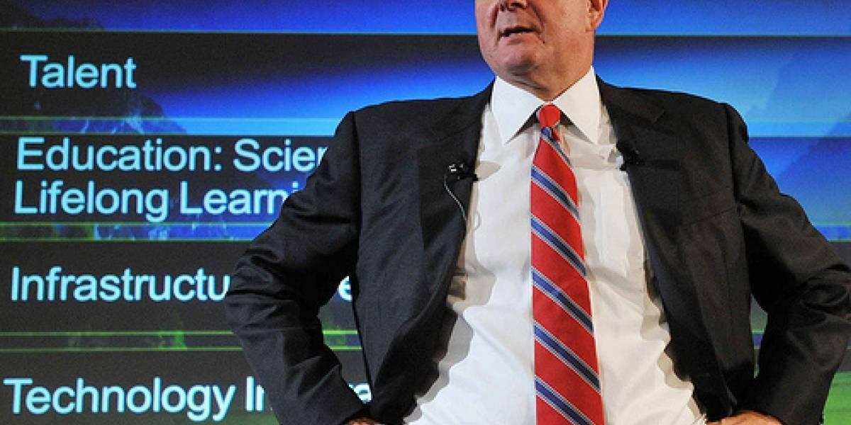 Steve Ballmer vende parte de sus acciones en Microsoft