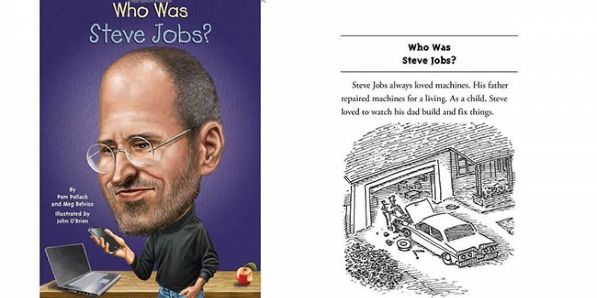 Lanzan libro para niños con la historia de Steve Jobs