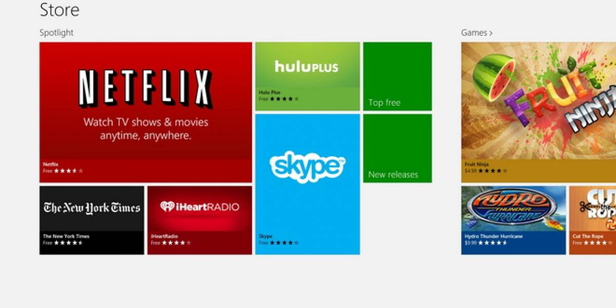 Aplicaciones de Windows 8.1 se actualizarían solas vía Windows Update