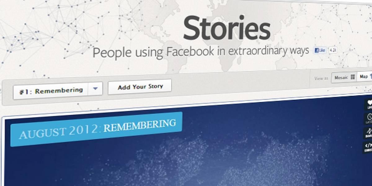 "Facebook lanza ""Stories"" para recolectar historias interesantes"
