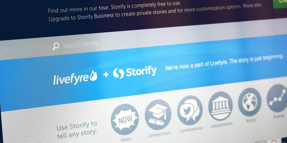 Livefyre adquiere Storify