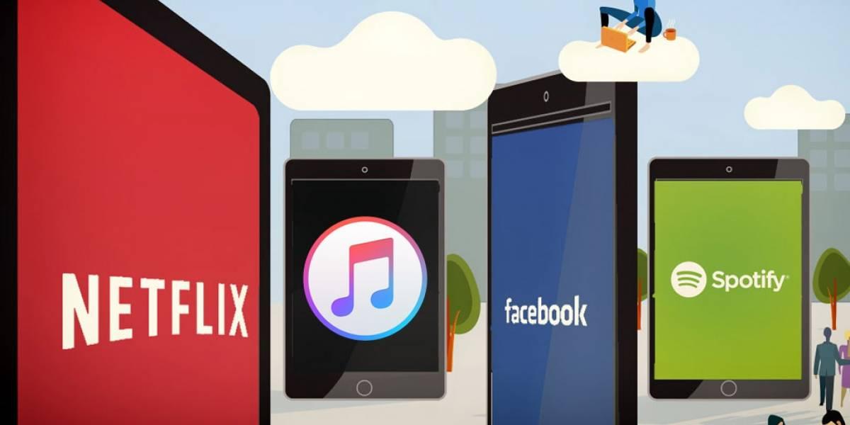 En 2015 sonaron 317 millones de canciones por streaming, según Nielsen