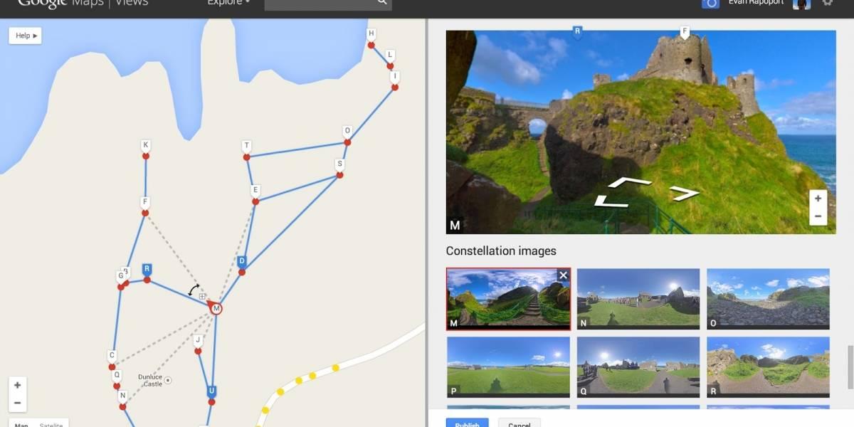 Google permite crear tus propios mapas de Street View