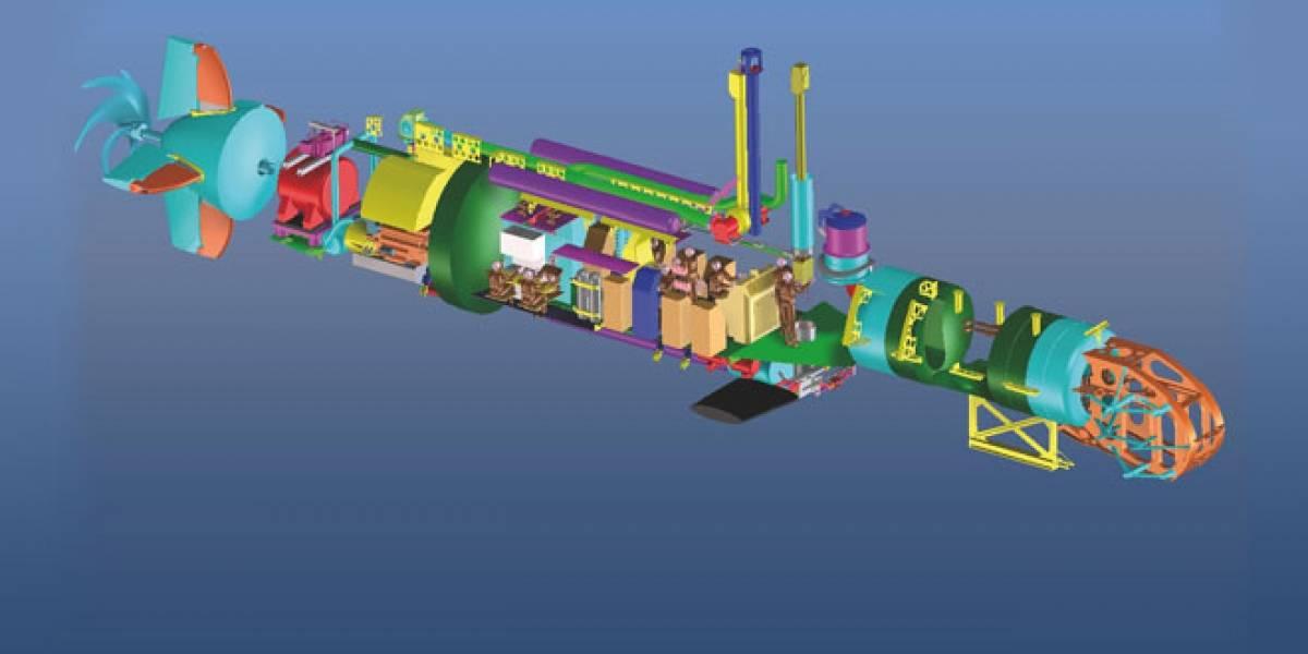 Crocodile Class 250, el primer submarino de rescate construido en Chile
