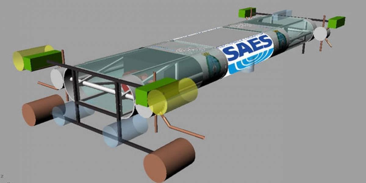 Un robot submarino español competirá en RoboSub 2012