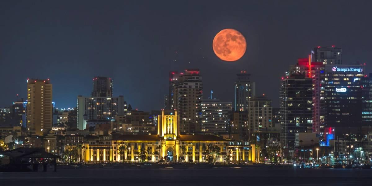 Conoce dónde se podrá ver el eclipse total de la superluna