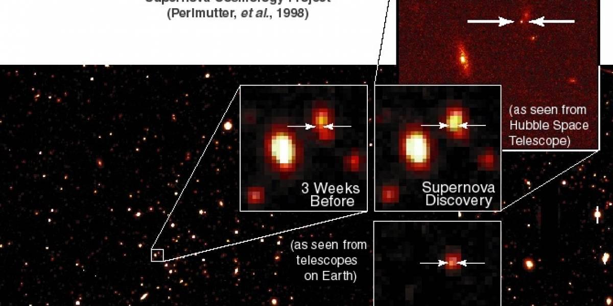 El premio Nobel de Física recayó en el lado oscuro del universo