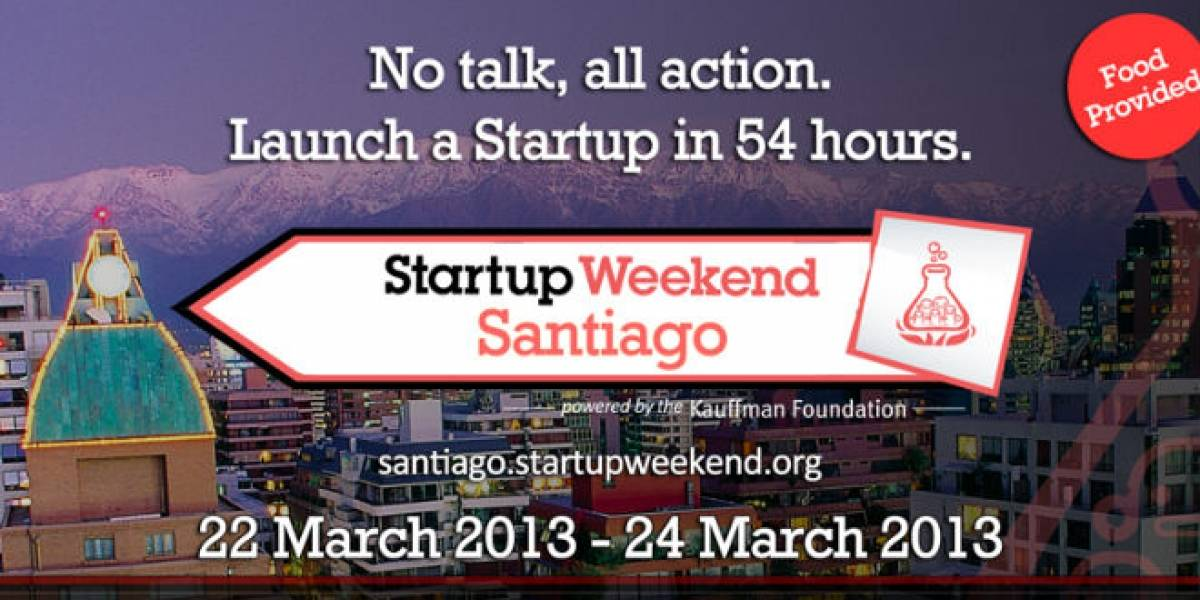 Chile: Ya se están agotando las entradas para ciertas categorías del Startup Weekend Santiago
