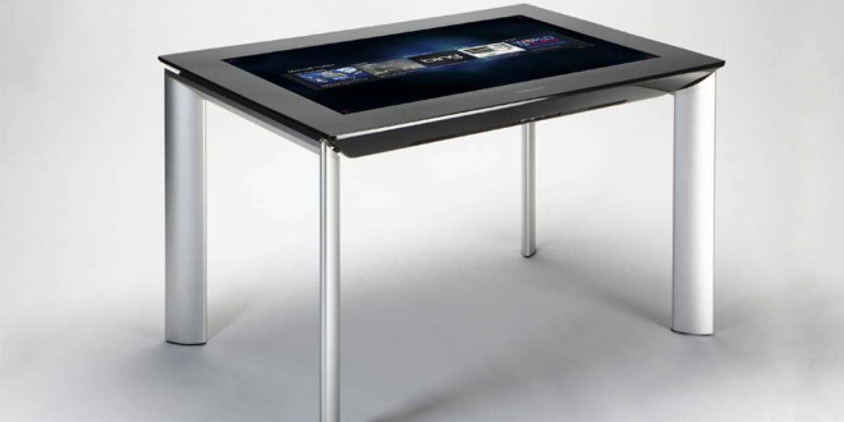 La mesa Surface ahora se llama PixelSense