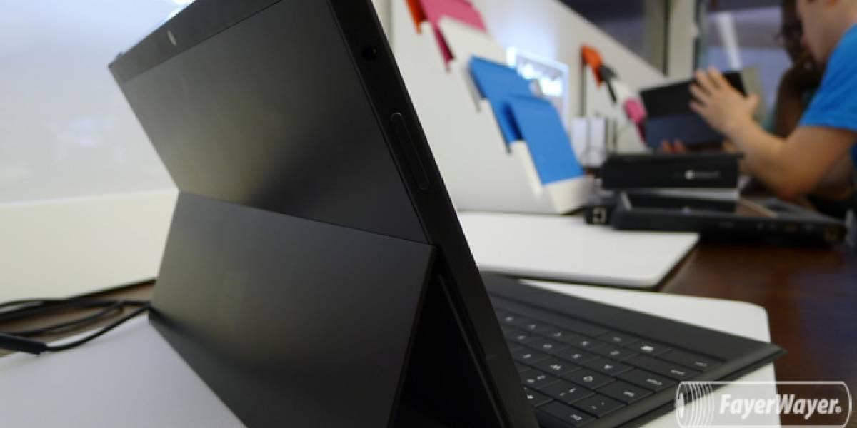 Microsoft aumentará la producción y distribución del Surface RT