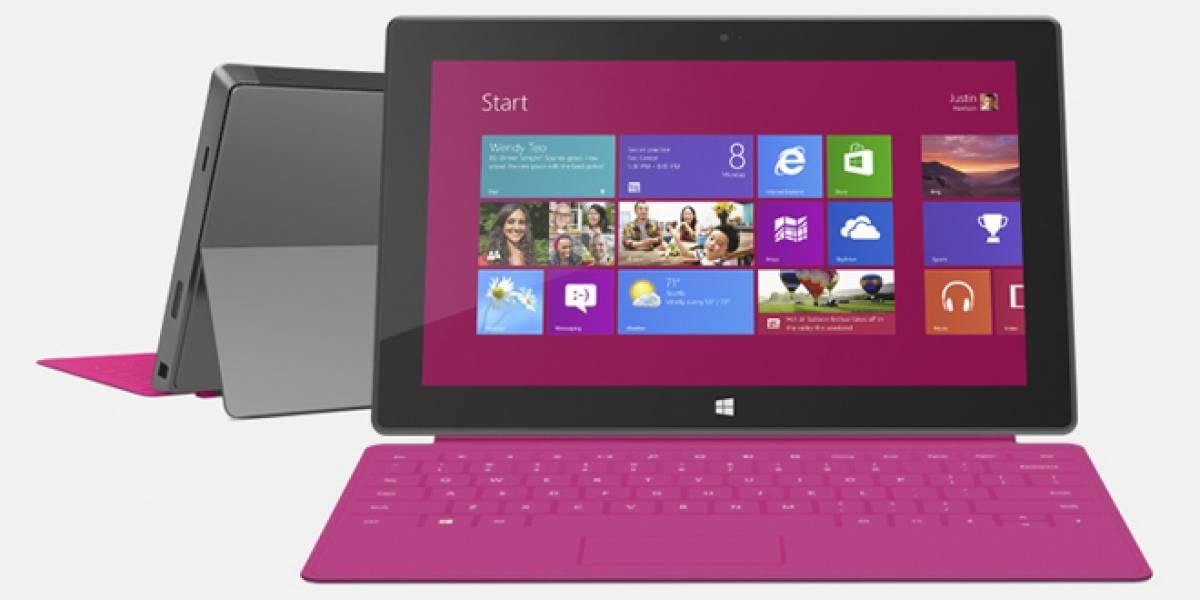 Las ventas del Microsoft Surface RT estarían más bajas de lo esperado