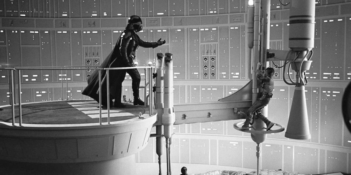 """Imágenes inéditas de la filmación de """"El Imperio Contraataca"""""""