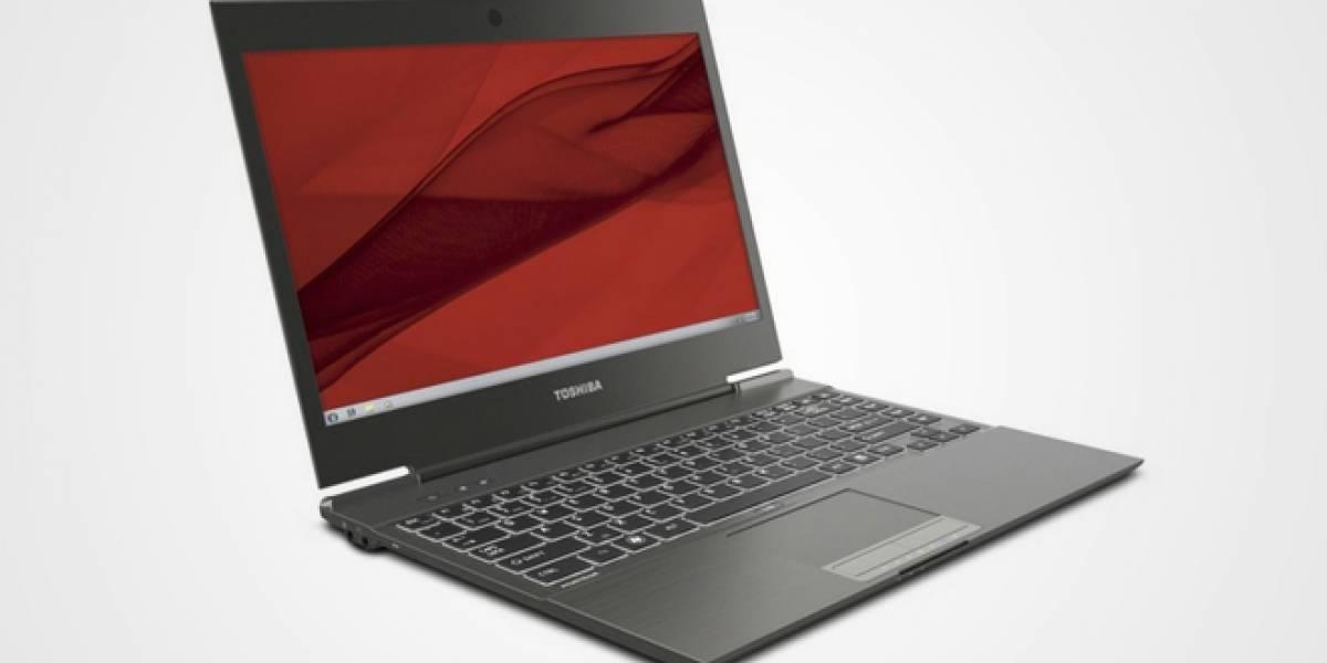 El Toshiba Portégé Z835 se actualiza y cambia el nombre a Portégé Z935