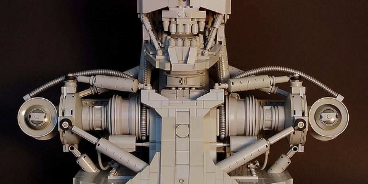 T-800 hecho de Lego