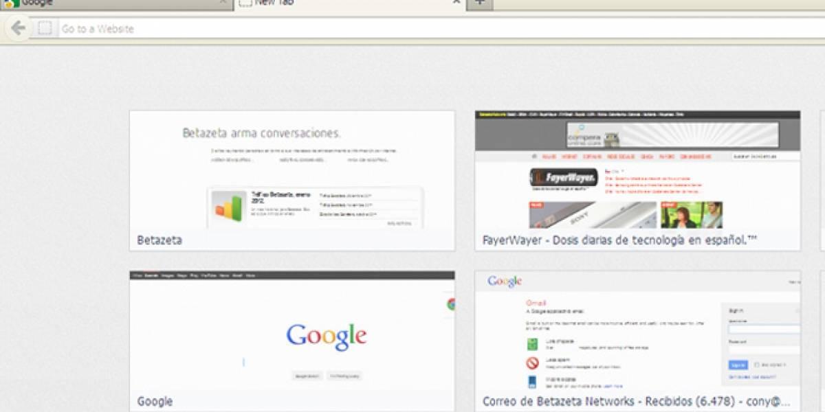 Nueva característica de Firefox 13 expone datos privados de usuarios