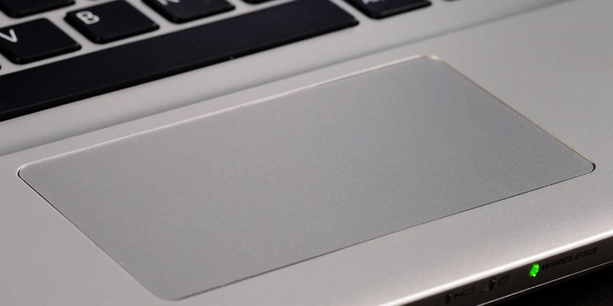 Lectores de huellas dactilares en notebooks vendrán ocultos bajo la superficie del trackpad #CES2015