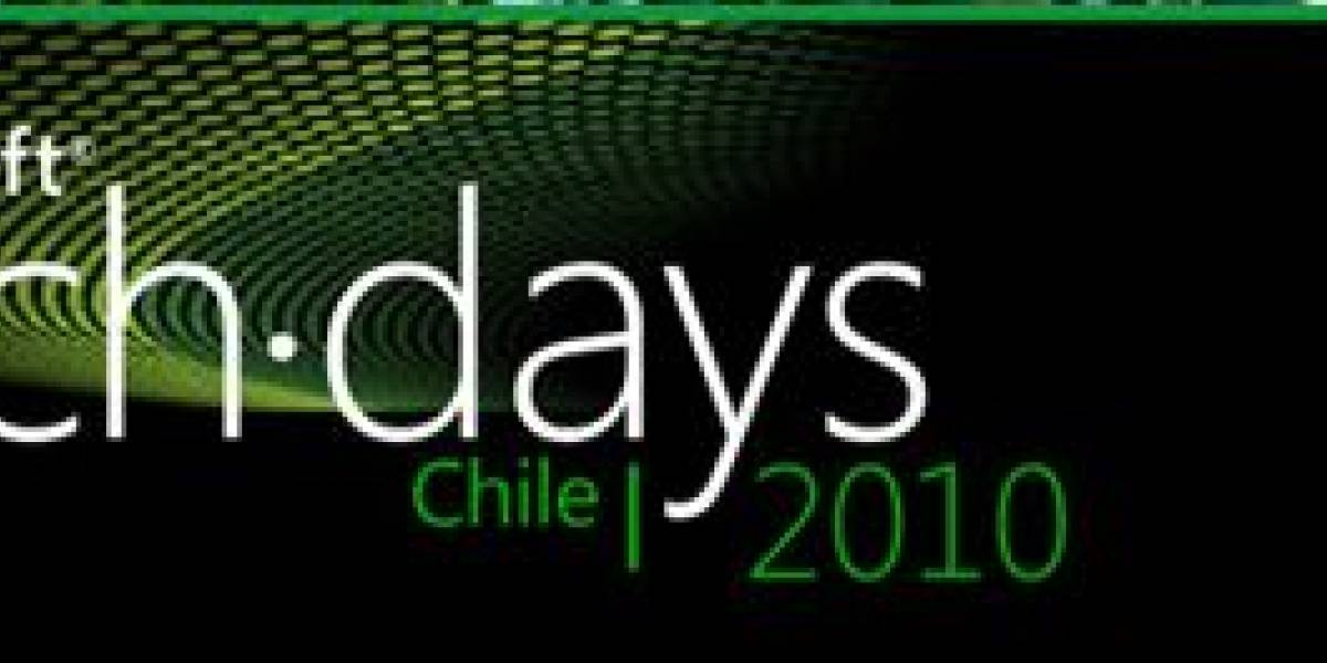 Chile: Gana una entrada a Microsoft Tech Days 2010