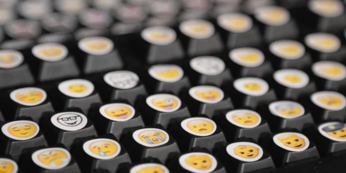 El teclado del futuro: Un teclado de emojis