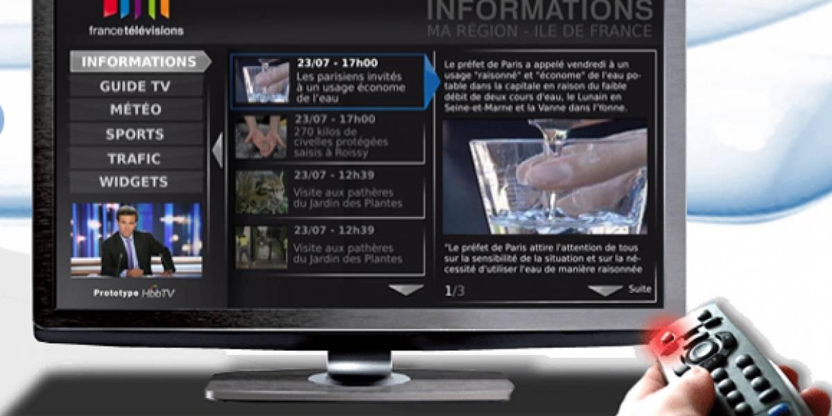 Inician emisiones de prueba de la televisión híbrida en España