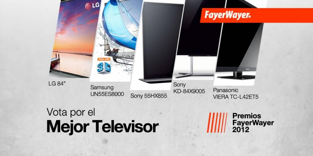 Pila de Oro: Vota por el mejor Televisor 2012