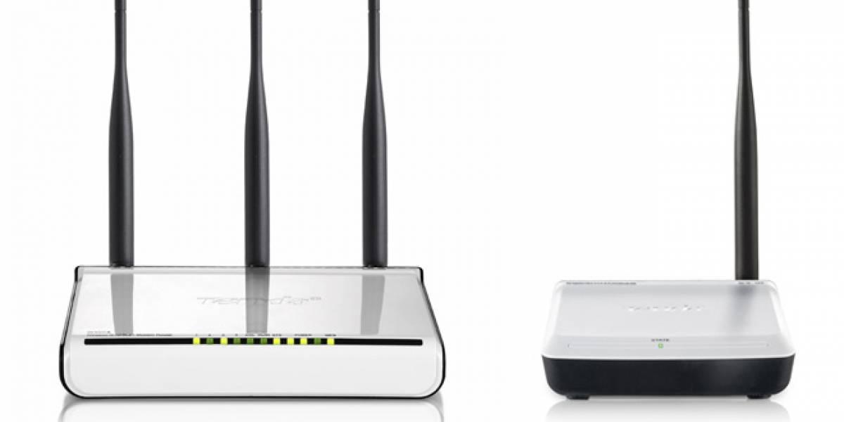 Chile: Comienza el 2012 con un nuevo router Tenda