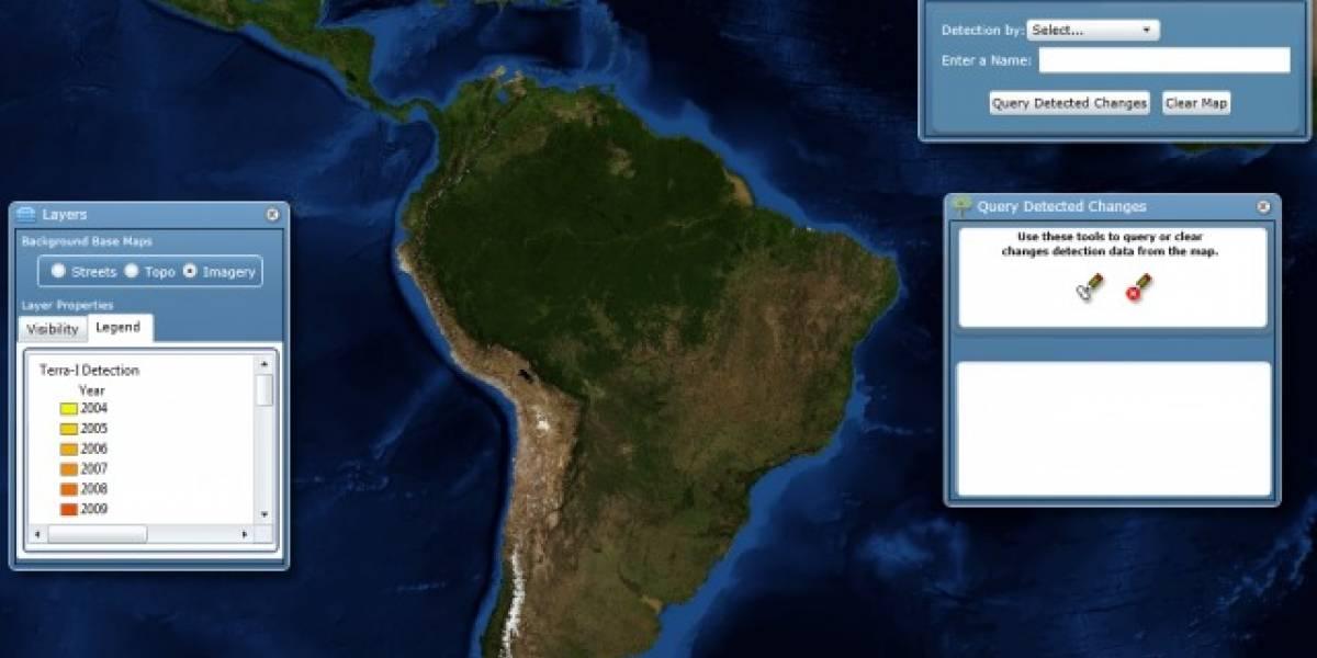 Terra-i: El sistema más preciso de seguimiento de la deforestación en tiempo real