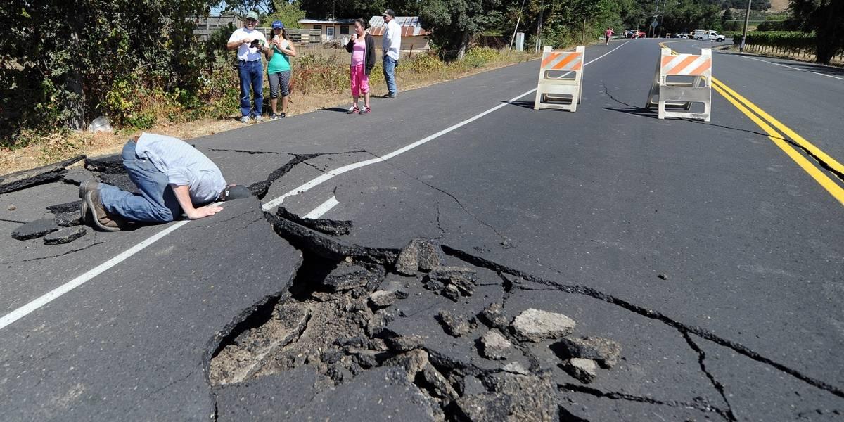 Así se ve el terremoto del Valle de Napa en 3D