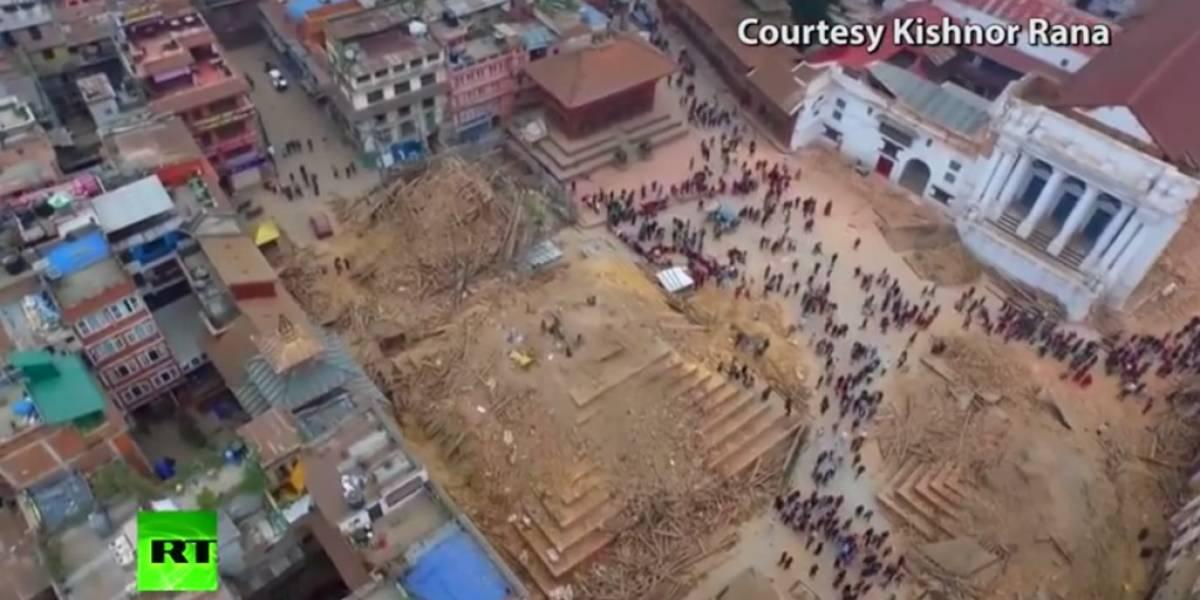 Mira estos 5 videos sorprendentes de la tragedia de Nepal
