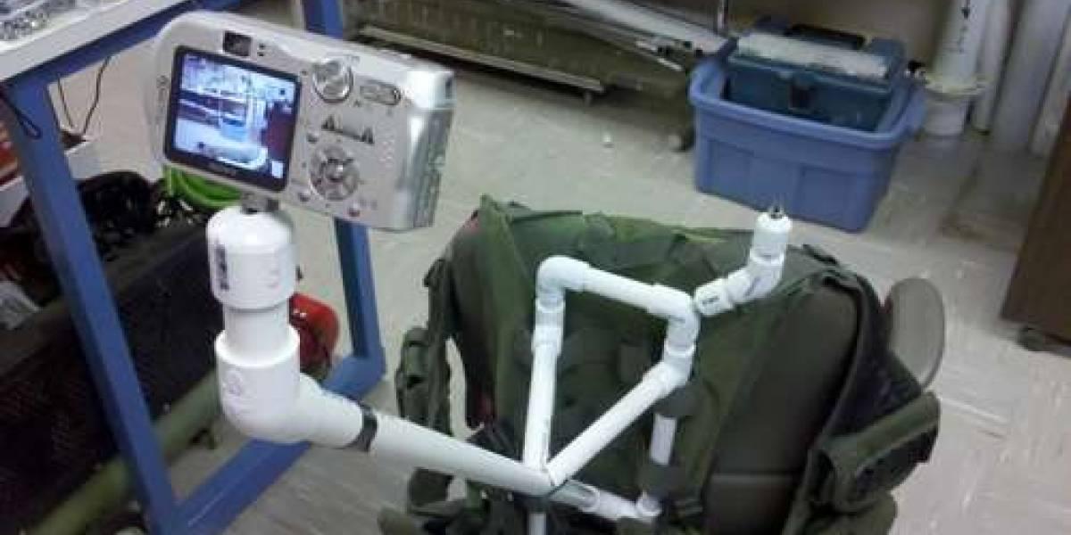 Crean sistema de bajo costo que permite verse en tercera persona