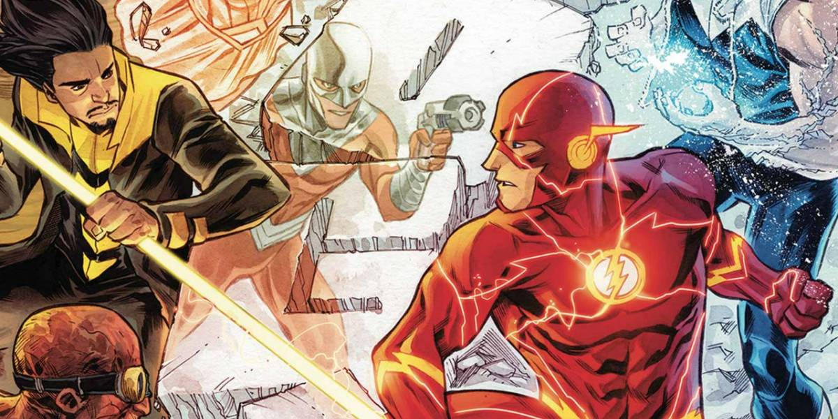 Flash enfrentaría a los Rogues en su película