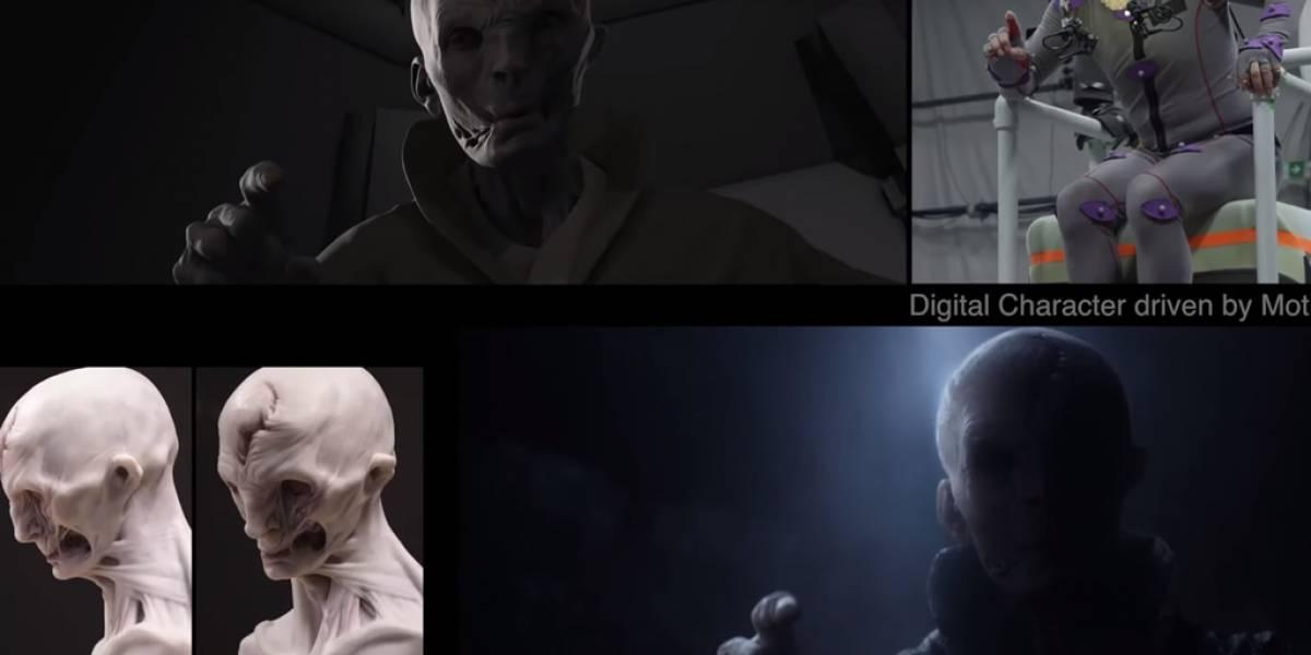 Así se ve Star Wars: El Despertar de la Fuerza sin efectos especiales