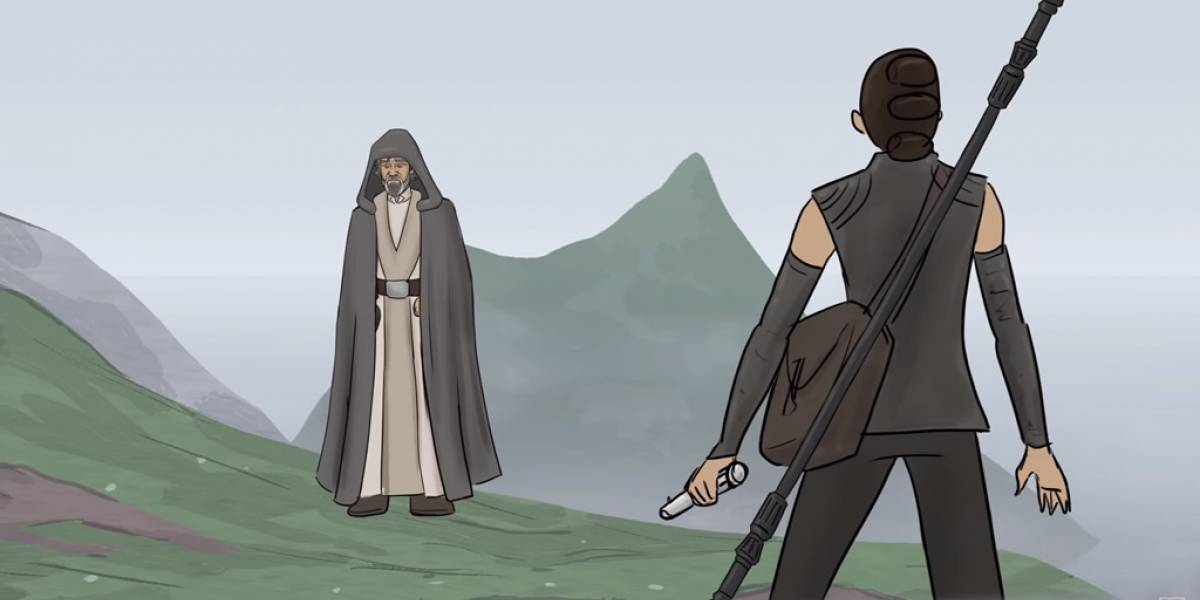 Así debió terminar Star Wars: El Despertar de la Fuerza