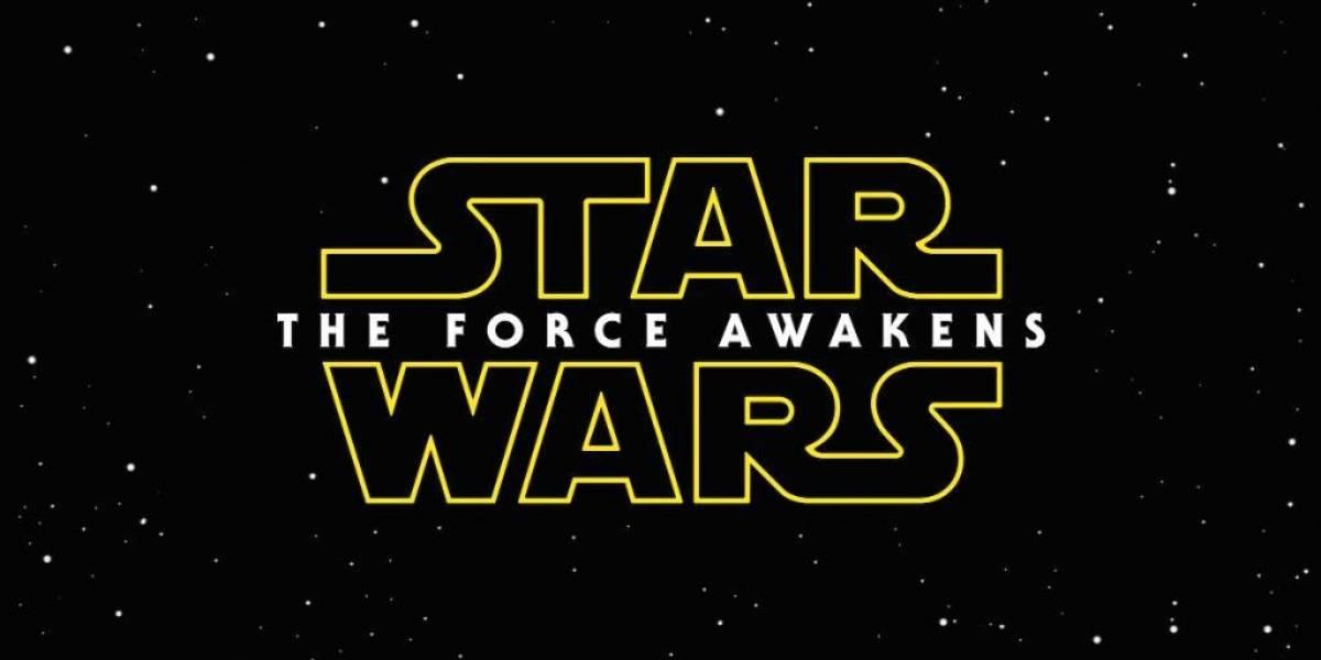 Star Wars: The Force Awakens es el nombre oficial de Episodio VII