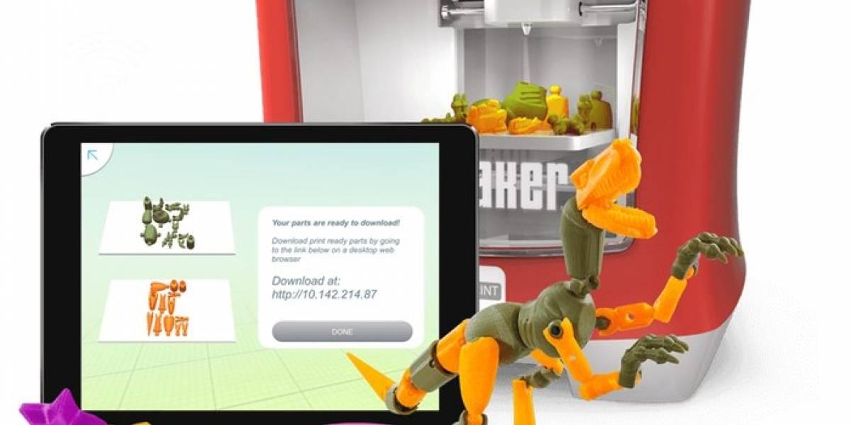 Autodesk y Mattel presentaron la primera impresora 3D para niños