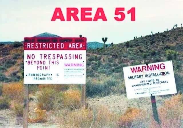 La famosa Área 51