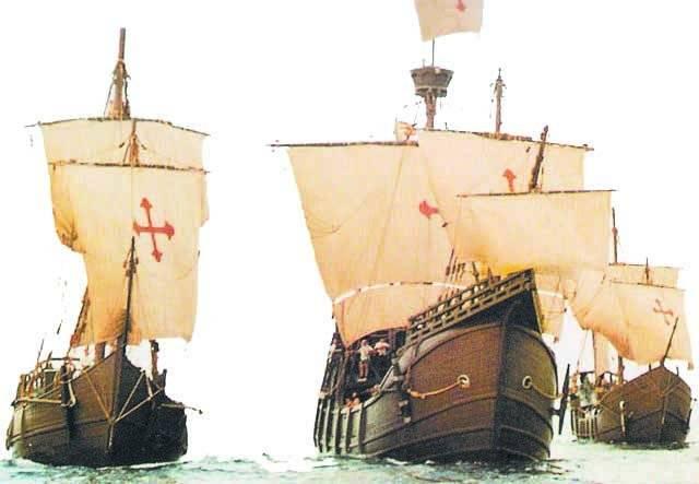 Las carabelas de Colón