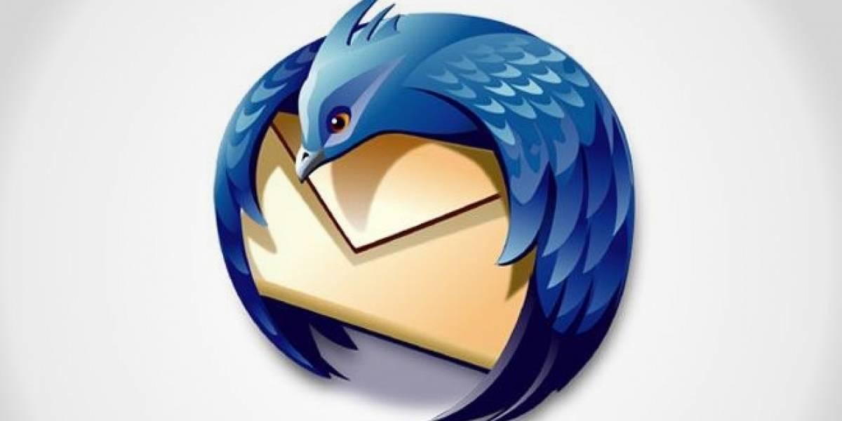 Mozilla dejará de desarrollar Thunderbird