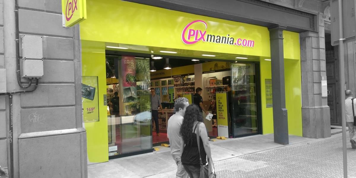 España: Pixmanía cierra sus tiendas físicas en España, operará sólo online