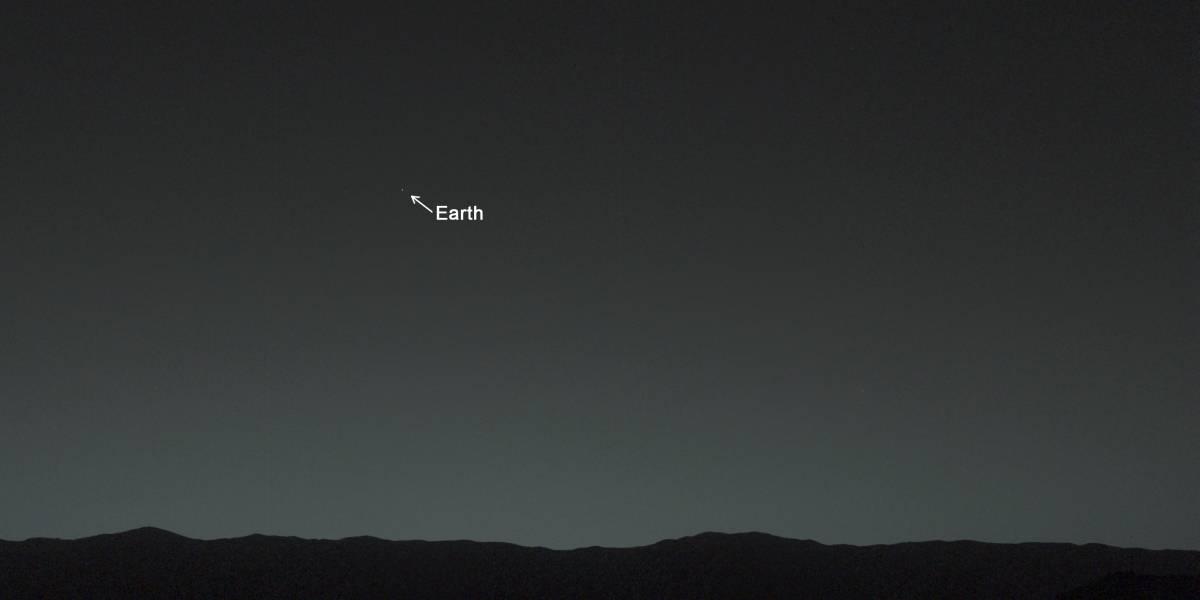 Imperdible: Curiosity observa la Tierra desde Marte