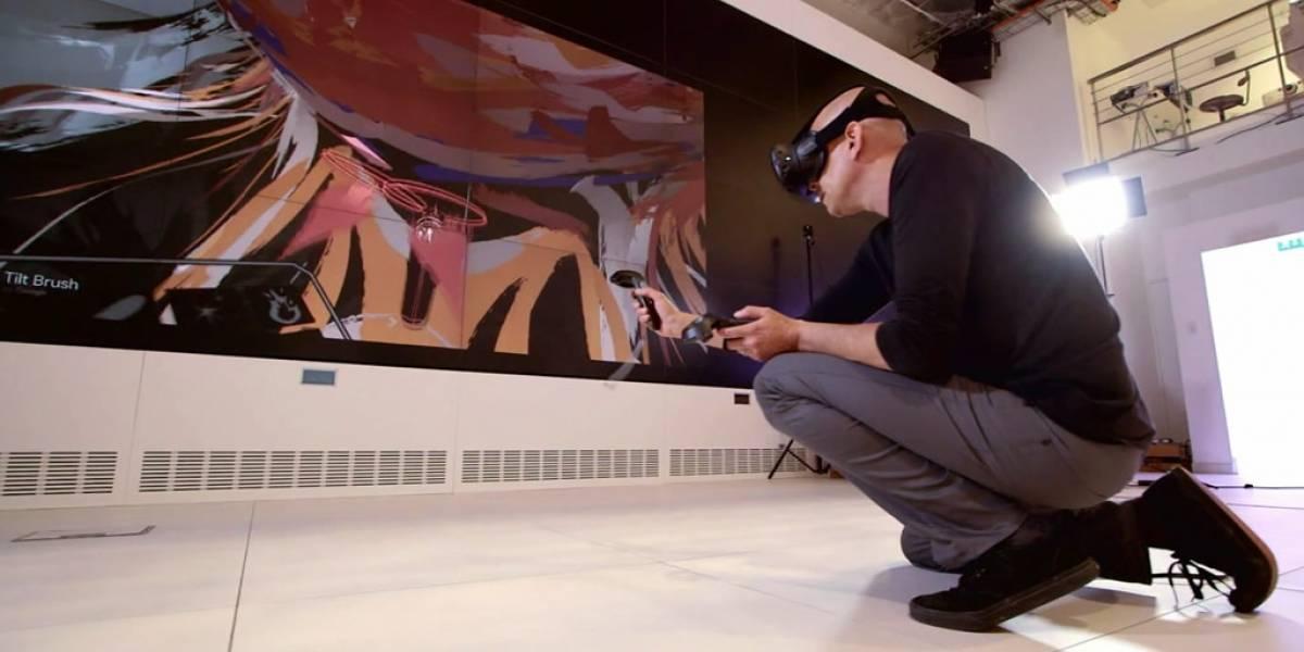 Tilt Brush, la aplicación para pintar en realidad virtual