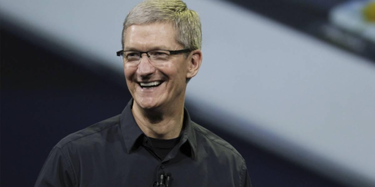 Tim Cook responde frente a la baja en el precio de las acciones de Apple