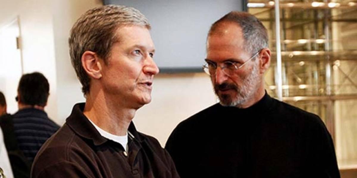 Los empleados de Apple están más contentos con Tim Cook