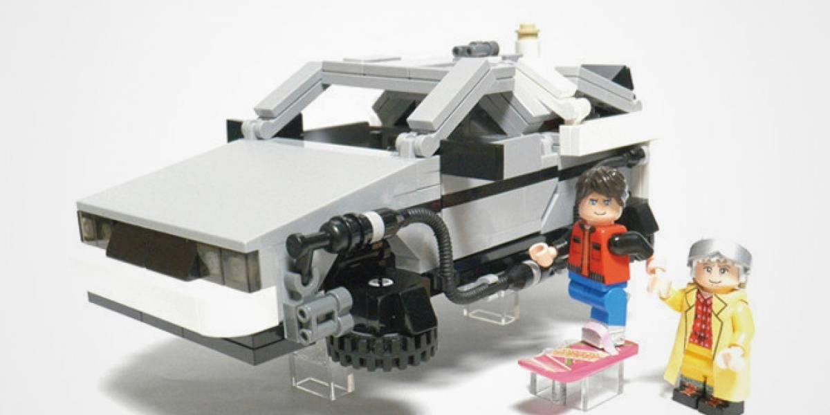 LEGO creará un set de Volver al Futuro