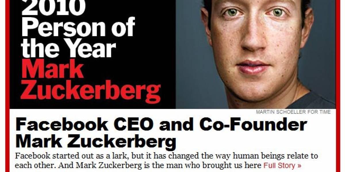 Mark Zuckerberg es el personaje del año, según TIME