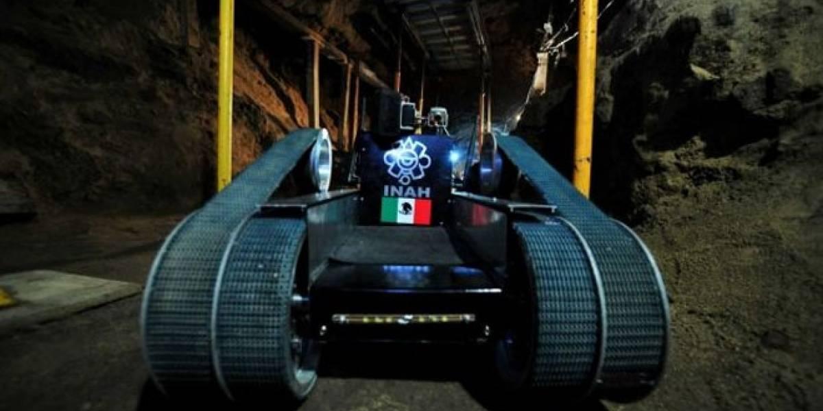 México: Robot descubre tres cámaras subterráneas en Teotihuacán