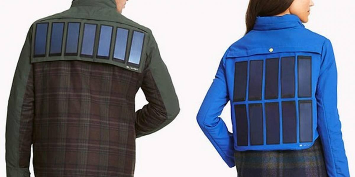 Tommy Hilfiger estrena una chaqueta con paneles solares integrados